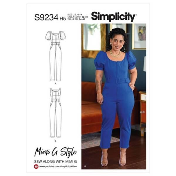 Simplicity S9234 Jumpsuit