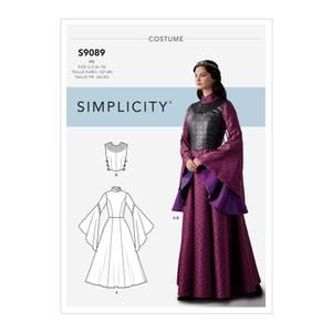 Bilde av Simplicity S9089 Kostyme fantasy