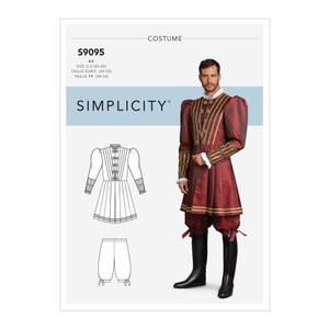 Bilde av Simplicity S9095 Kostyme historisk