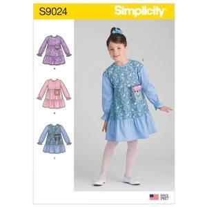 Bilde av Simplicity S9024 Kjole