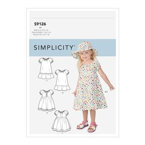 Bilde av Simplicity S9126 Kjole til barn