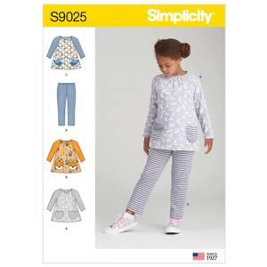 Bilde av Simplicity S9025 Topp og tights