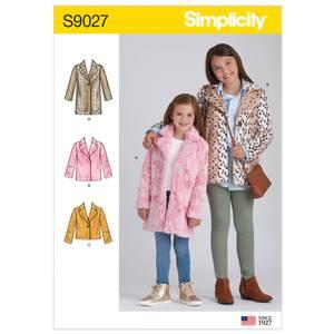 Bilde av Simplicity S9027 Kåpe og jakke fôret