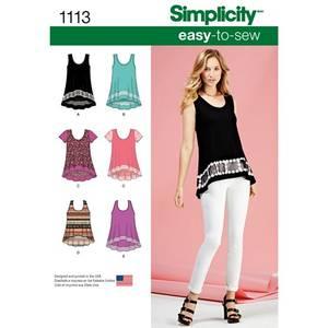 Bilde av Simplicity 1113 Dame topp