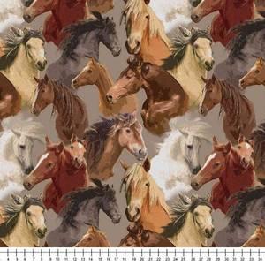 Bilde av Jersey hester i naturfarger