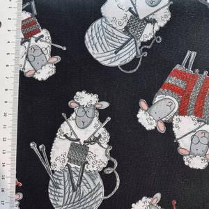 Bilde av Bomull knit - strikking sauer