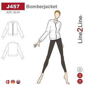Bilde av Line2Line J457 Bomberjakke