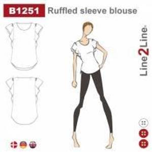 Bilde av Line2Line B1251 Bluse med vingeermer