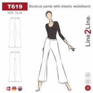 Bilde av Line2Line T619 Bukse med vide bein