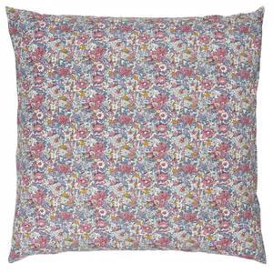 Bilde av Putetrekk rosa, lilla og mustard m/blomster