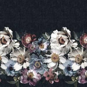 Bilde av Lin sort med blomster bord