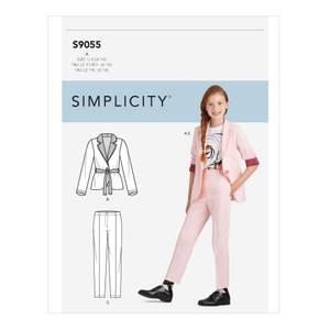 Bilde av Simplicity S9055 Dressjakke og bukse til barn