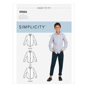 Bilde av Simplicity S9056 Skjorte til barn