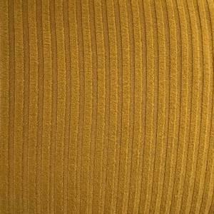 Bilde av Viskose ribbestrikket - okergul