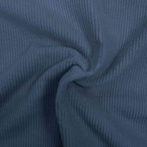 Bilde av Kordfløyel med stretch bredstripet - klar blå