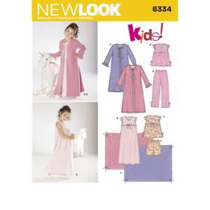 Bilde av New Look 6334 Pysjamas, nattkjole og pledd