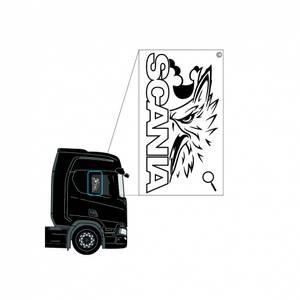 Bilde av Scania vindusdekor 1