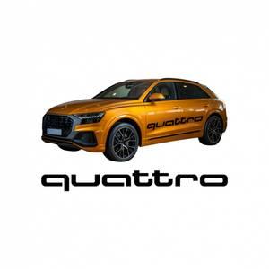 Bilde av Audi Quattro klistremerke