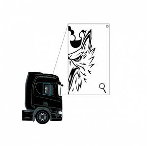 Bilde av Scania vindusdekor 3