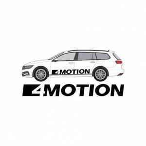 Bilde av VW 4motion klistremerke
