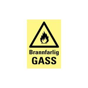 Bilde av Brannfarlig gass