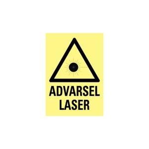Bilde av Advarsel laser