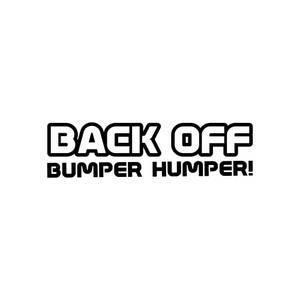 Bilde av Back off bumper humper!