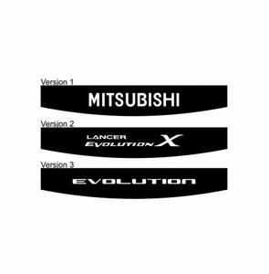Bilde av Mitsubishi Toppstriper