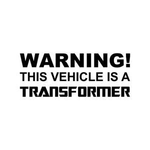 Bilde av This vehicle is a transformer