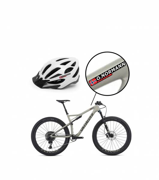 Navnemerke til sykkel (version 2)