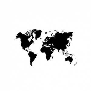 Bilde av Verdenskart til vegg