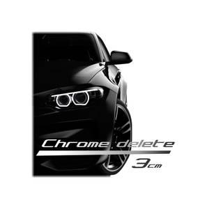 Bilde av Chrome Delete 150 x 3 cm