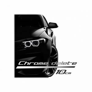 Bilde av Chrome delete 150 x 10 cm