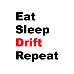 Bilde av Eat Sleep Drift Repeat