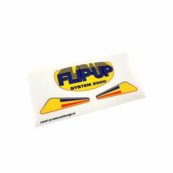 Flip-Up System 2000 dekaler