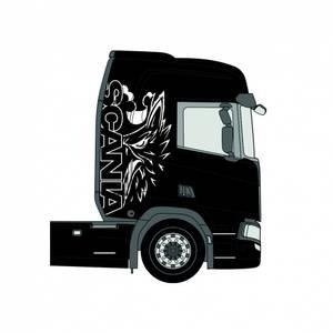 Bilde av Scania Legend dekalkit