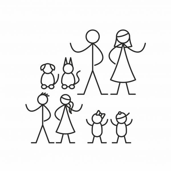 Strekmann familie