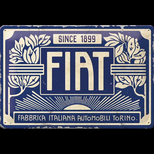 Bilde av Fiat Since 1899 Logo Blue