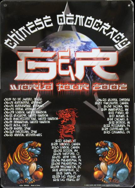 Bilde av Guns N´ Roses World Tour 2002