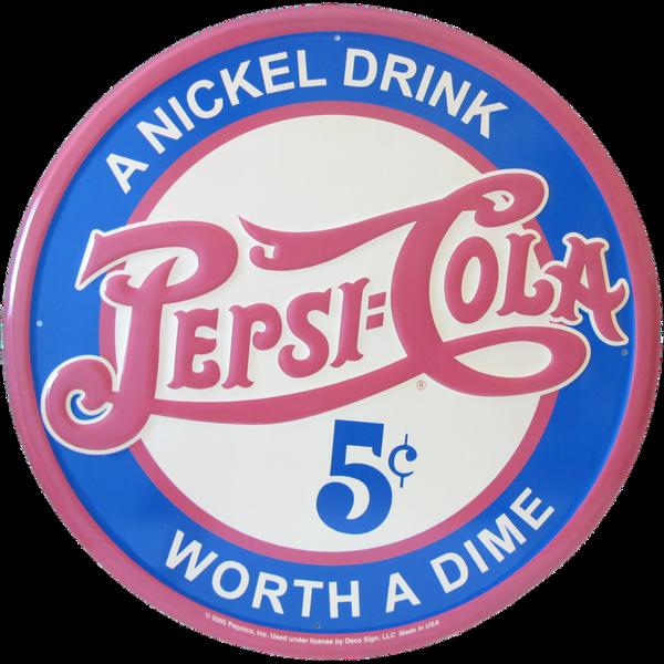 Bilde av Pepsi-Cola A Nickel Drink