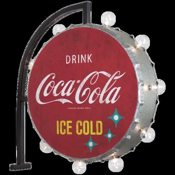 Bilde av Coca-Cola Double Sided LED