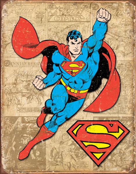 Bilde av Superman Retro Panel