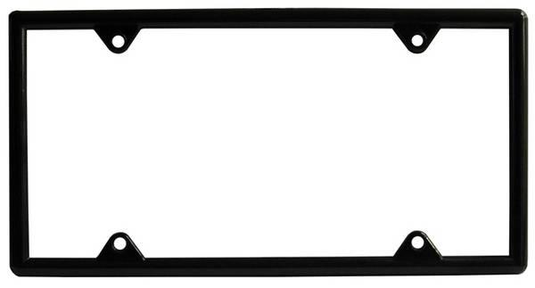 Bilde av License Plate Frame - Black Metal
