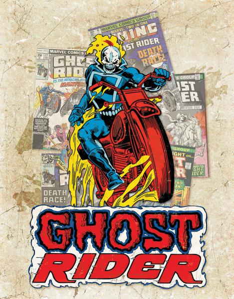 Bilde av Ghost Rider Cover Splash