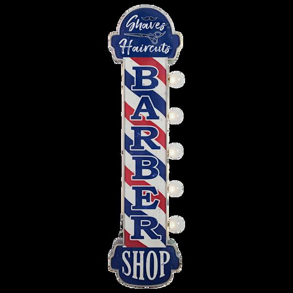 Bilde av Barber Shop LED OTW Skilt