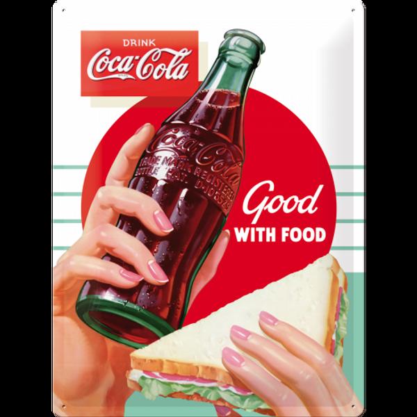 Bilde av Coca-Cola Good With Food