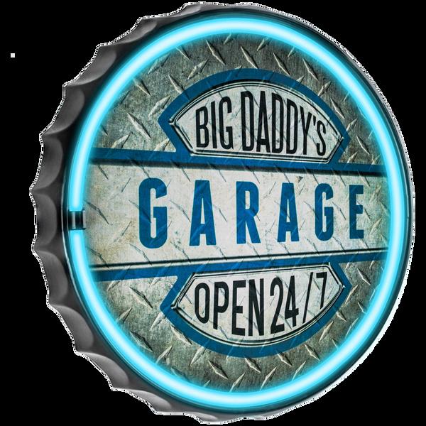 Bilde av Big Daddys Garage Round LED Tube