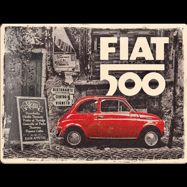 Bilde av Fiat 500 Red Street Car