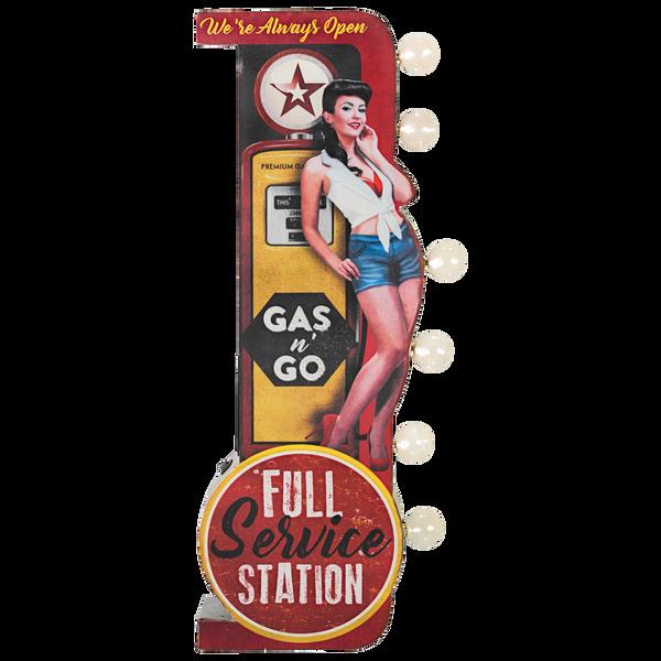 Bilde av Full Service Station LED OTW Skilt