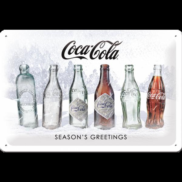 Bilde av Coca-Cola Snow White Bottles